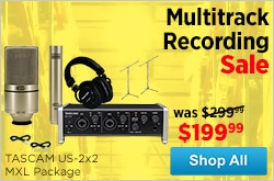 MF MD DR Multitrack Recording Sale 12-21-14