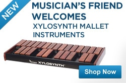 MF MD DR Musicians Friend Welcomes Xylosynth Mallet Instruments! 05-16-13