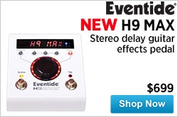 MF MD DR New Eventide H9 MAX Stereo Delay Guitar Effects Pedal 12-21-14