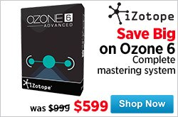 MF MD DR Ozone 6 On Sale 03-27-15