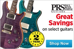 MF MD DR PRS GuitarsSelect models on sale  03-27-15