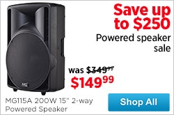 MF MD DR Powered Speaker Sale 09-19-14