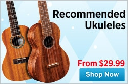 MF MD DR Recommended Ukuleles 11-26-14