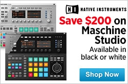 MF MD DR Save 200 on Maschine Studio 04-16-15