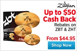 MF MD DR Save on Zildjian ZBTZHT Cymbals 05-29-15