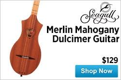 MF MD DR Seagull Merlin Mahogany Dulcimer Guitar 03-27-15