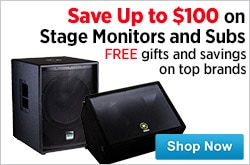 MF MD DR Stage Monitors and Subs 08-14-15