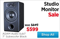 MF MD DR Studio Monitor Sale 09-05-14