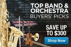 MF MD DR Top Band & Orchestra Buyers Picks 05-01-13