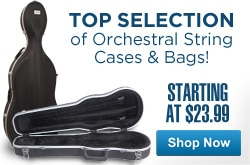MF MD DR Top Selection of Orchestral String Cases & Bags 04-23-13