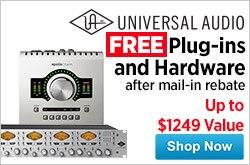 MF MD DR Universal Audio logo Rebates 11-14-14