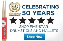 MF MD DR Vic Firth Drums and Percussion Celebrating 50 Years 05-15-13