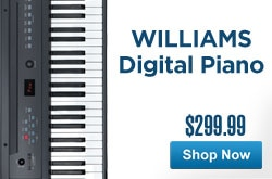 MF MD DR Williams Allegro Digital Piano 05-03-13