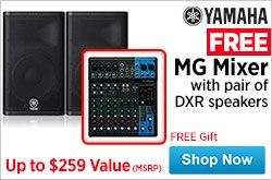 MF MD DR Yamaha Free MG Mixer 3-30-15