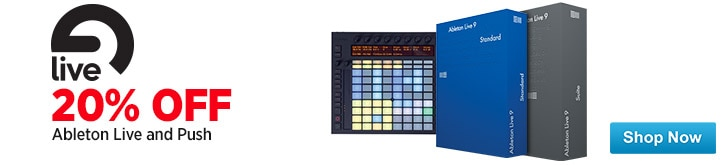 MF MD DT 20 Off All Ableton Software and Push 12-28-14