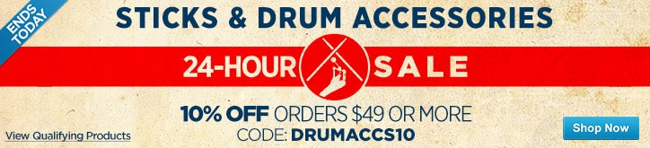MF MD DT 24Hour Drum SticksAccessories Sale 08-26-15