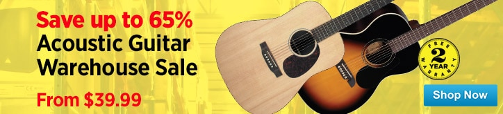 MF MD DT Acoustic Guitar Warehouse Sale Spotlight 12-19-14
