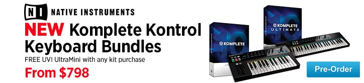 MF MD DT All New Komplete Kontrol Keyboard Bundles 09-11-14