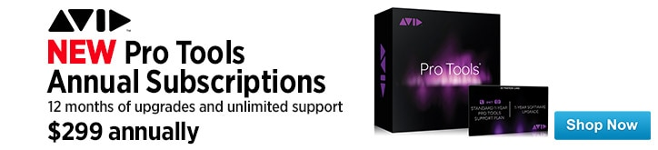 MF MD DT All new Pro Tools Annual Subscriptions 04-24-15