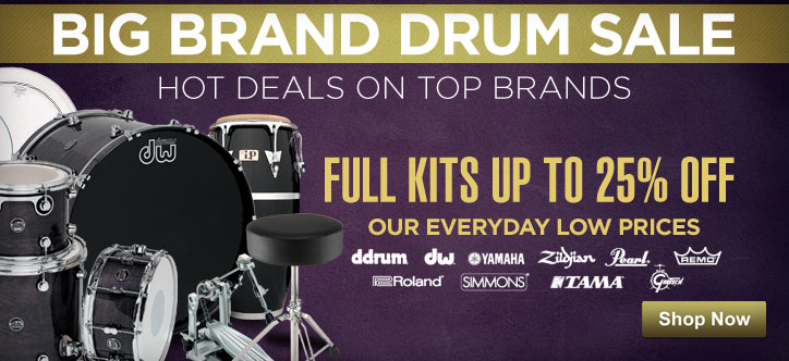 MF MD DT Big Brand Drum Sale 04-30-13