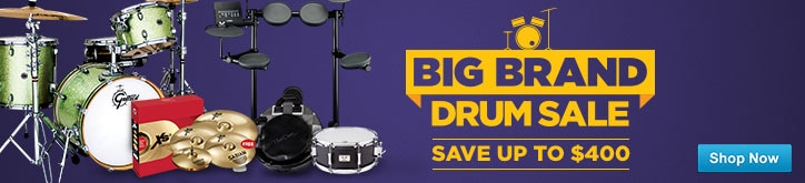 MF MD DT Big Brand Drums Sale 04-29-16