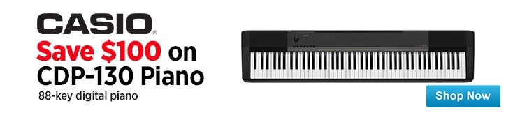 MF MD DT CDP 130 88Key Digital Piano 02-26-15