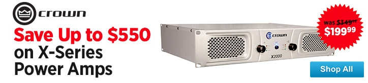 MF MD DT Crown XSeries Power Amps 08-15-14