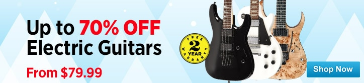 MF MD DT Holiday Electric guitar deals 11-26-14