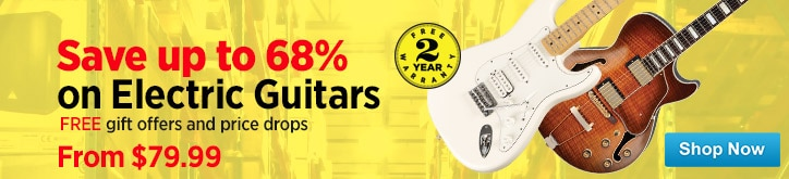 MF MD DT Electric Guitar Warehouse Sale 12-28-14