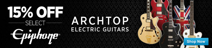 MF MD DT Epiphone Archtop Sale 06-30-15