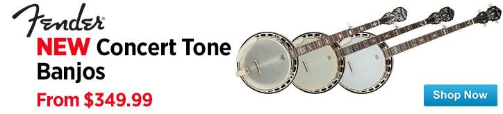 MF MD DT Fender Concertone Banjos 02-26-15