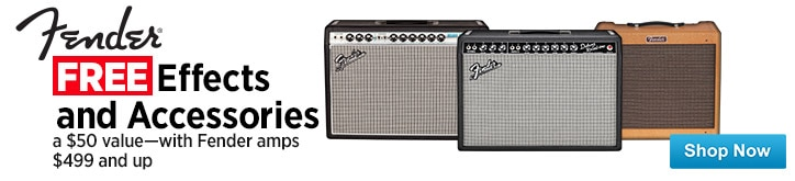 MF MD DT Free Gifts with purchase of select Fender Amps 12-28-14