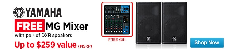 MF MD DT Free MG Mixer with pair of DXR Speakers 02-26-15
