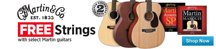 MF MD DT Free Strings with Select Martin Guitars 08-22-14