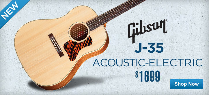 MF MD DT Gibson J-35 Acoustic-Electric  04-30-13