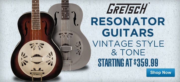 MF MD DT Gretsch Resonator Guitars 04-30-13