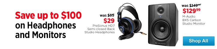 MF MD DT Headphones and Monitors 04-10-15