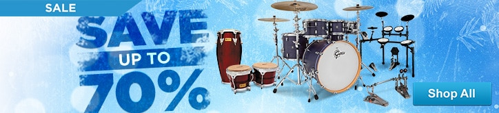 MF MD DT Holiday DrumPercussion Sale 12-19-14
