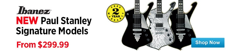 MF MD DT Ibanez Paul Stanley Signature Models 04-10-15