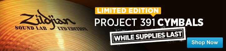 MF MD DT Introducing Zildjian Project 391 Cymbal series 07-25-14
