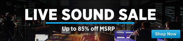 MF MD DT Live Sound Sale 10-03-14