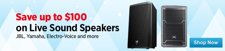 MF MD DT Live Sound Speaker Sale 12-12-14