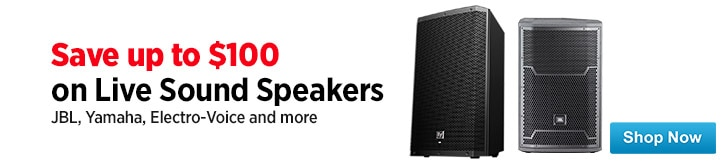 MF MD DT Live Sound Speaker Sale 12-19-14