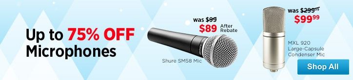 MF MD DT Microphone Sale 12-12-14