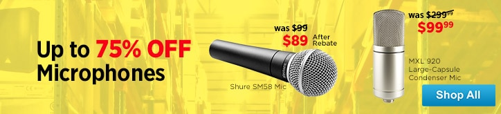 MF MD DT Microphone Sale 12-19-14