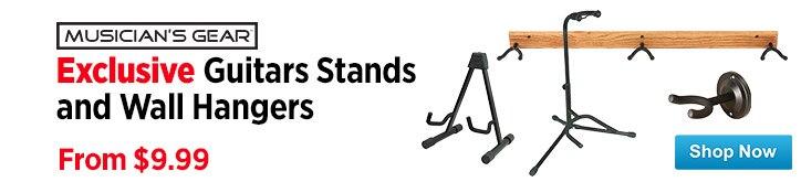 MF MD DT Musicians Gear Guitar StandsWall Hangers 05-08-15