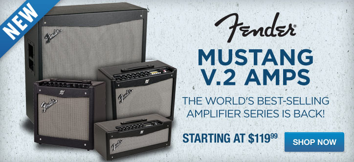 MF MD DT New! Fender Mustang V.2 Amps 04-30-13