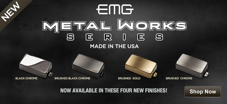 MF MD DT New! EMG Metailworks Pickups 05-14-13