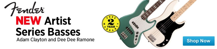 MF MD DT New Fender Artist Series Basses 11-14-14
