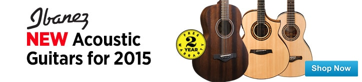 MF MD DT New Ibanez Acoustic Guitars for 2015 01-23-15